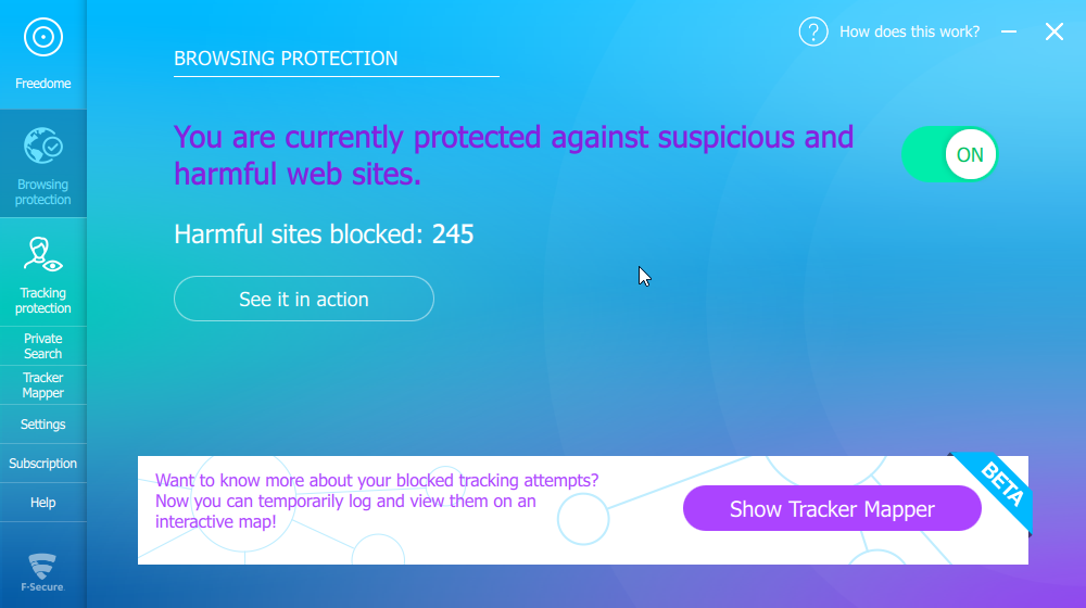 Freedome Browsing Protection
