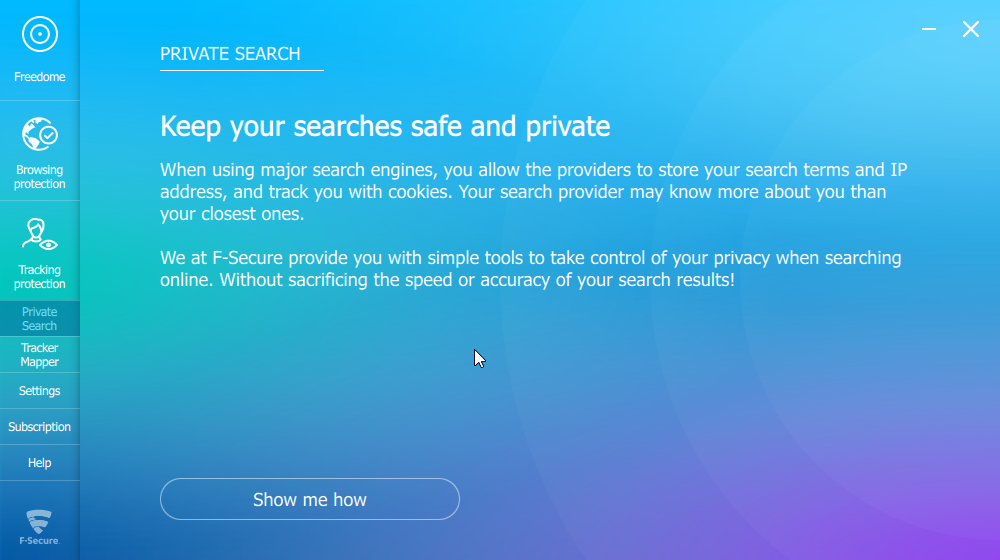 Freedome Private Search