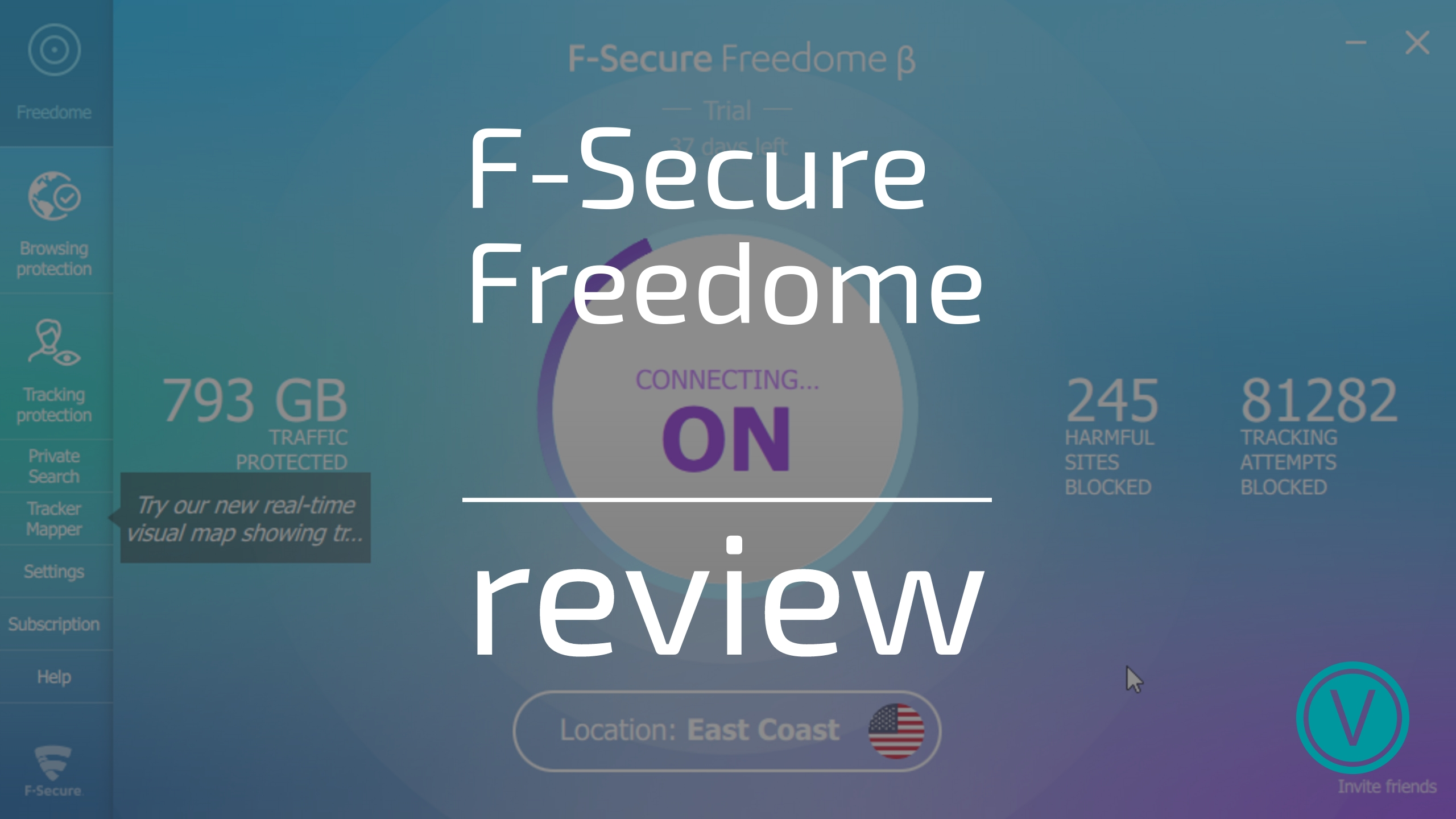 F-Secure Freedome VPN Review