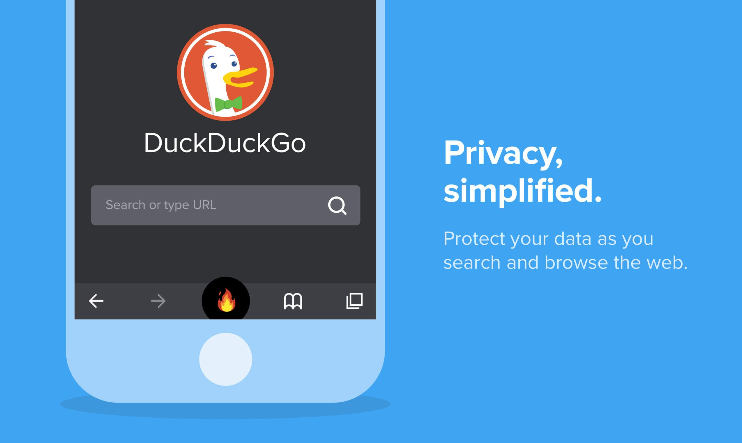 DuckDuckGo goes beyond search with privacy app and extension