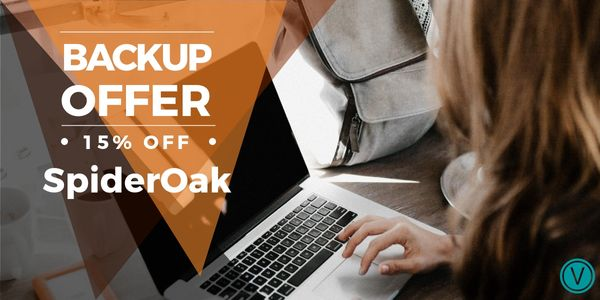 SpiderOak secure backup promo code: get 15 percent off any plan